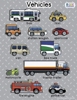 Vehicles Poster