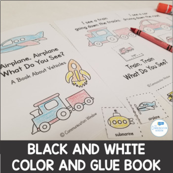 Vehicles Theme Interactive Books - Dollar Deal!