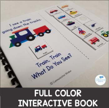Vehicles Theme Interactive Books - Dollar Deal!