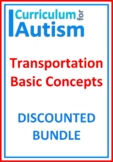 Transportation Vehicles Bundle Autism Basic Concepts
