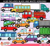 Vehicles Transportation Clip Art