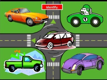 Vehicles in English powerpoint