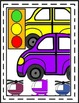 Vehicles~Transportation {Land & Water} Colorful!  Borders, Pages, Images