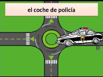 Vehículos (Vehicles in Spanish) power point
