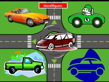 Vehículos (Vehicles in Spanish) PowerPoint