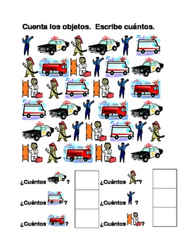 Vehiculos de emergencia (Emergency vehicles in Spanish) co