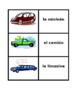 Vehículos (Vehicles in Spanish) Concentration games