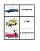 Veículos (Vehicles in Portuguese) Card Games