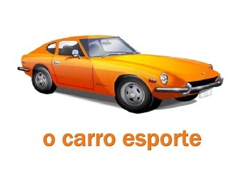 Veículos (Vehicles in Portuguese) Posters
