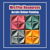 Painting - Acrylic Vektor Painting Project