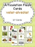 Apraxia & Articulation Cards Velar-Alveolar