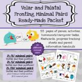 Velar Fronting and Palatal Fronting Minimal Pairs Ready-Ma