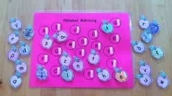 Velcro Alphabet and Number Practice Set