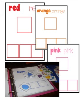 Velcro Color Activity Book