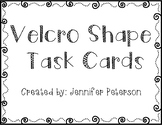 Velcro Shapes Task Cards