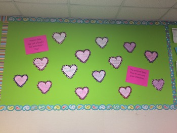 Valentines Bulletin Board By Kate See Teachers Pay Teachers