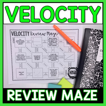 Velocity Maze Worksheet