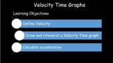 Velocity Time Graphs higher and lower ability lessons upda