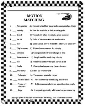 Motion Matching