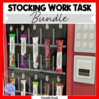Vending Machine BUNDLE for Vocational Training in Autism Units & Life Skills