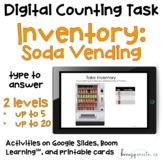 Vending Machine Soda Inventory - Digital Counting Practice