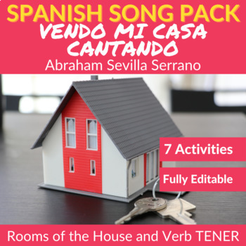 Vendo mi casa cantando: Song to Practice the Rooms of the House and TENER