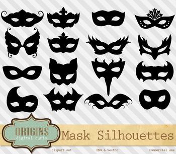 Venetian Carnival Masquerade Masks Vector PNG Clipart Clip Art