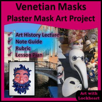 Venetian Masks Plaster Mask Art Project