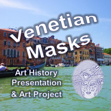 Venetian Masks Presentation and Art Project