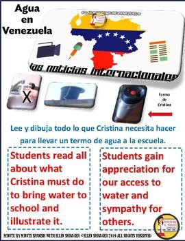 Venezuela Current Events Activity with Agua en Venezuela