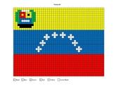 Venezuela Flag Mystery Mosaic