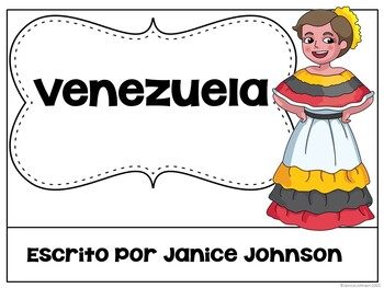 Venezuela Reader {en español} & Vocab pages ~ Simplified for Language Learners