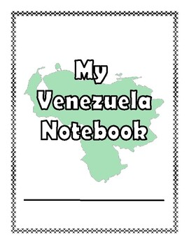 Venezuela:  Worksheets, Maps, and Journaling Pages