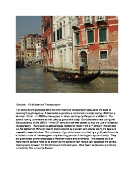 Venice Birthplace of Global Trade
