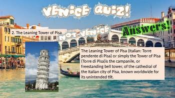 Venice Quiz