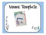 Money Economy- Venmo Template