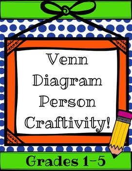 Venn DIagram Person Craftivity! Comparing & Contrasting Interview