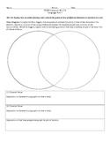 Venn Diagram Analysis CCSS RL.7.6