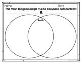 Venn Diagram ~ Blank ~ FREEBIE!!