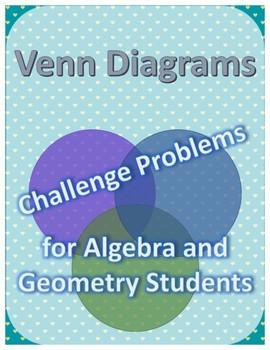 Venn Diagram Challenge Problems