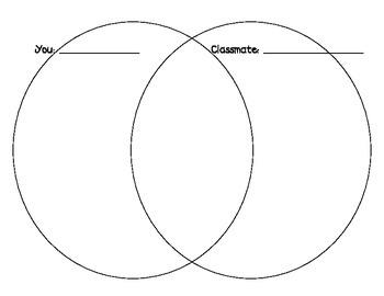 Venn Diagram - Classmate Comparison