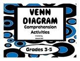 Venn Diagram Comprehension Activities