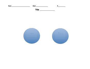 Venn Diagram Graphic Organizer