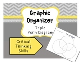 Graphic Organizer - Triple Venn Diagram