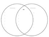 Venn Diagram Graphic Organizer Worksheet