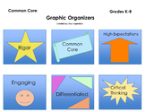 Venn Diagram Graphic Organizer with Helpful Teacher Tools