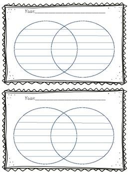 Venn Diagram- Interactive notebook