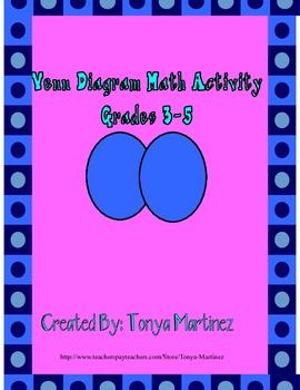 Venn Diagram Multi Skill Math Activity