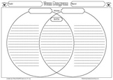 Venn Diagram Graphic Organizer Set