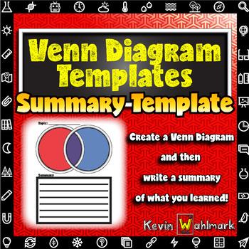 Venn Diagram Summary Templates